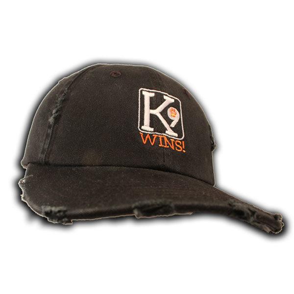 charcoal K9 Wins hat