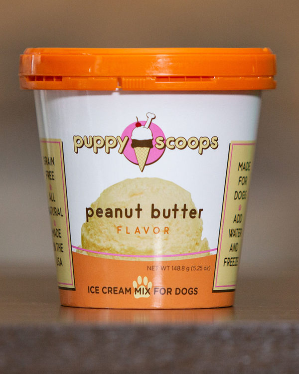 Peanut Butter Ice Cream for Dogs