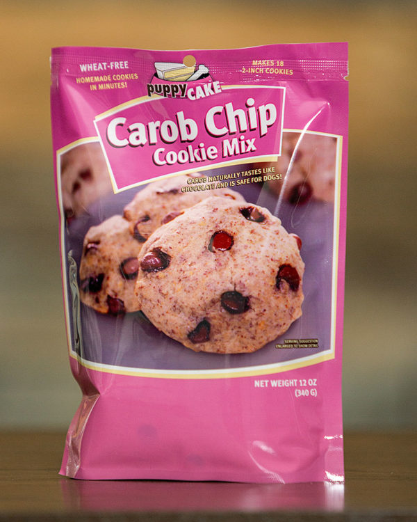 carob chip dog cookies